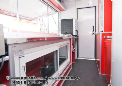 Автокафе  FOOD-TRUCK  для выездной торговли на шасси автомобиля Газель-Next