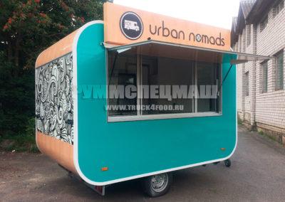 Автоприцеп Vision - мобильное кафе, точка быстрого питания